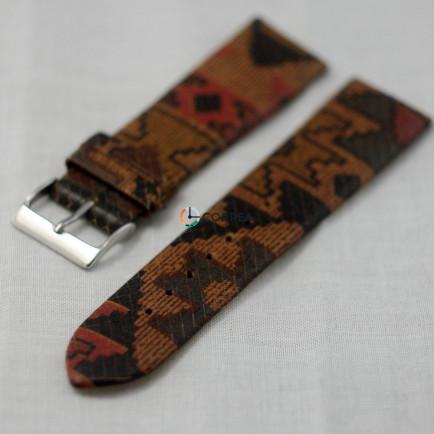 Ремешок из телячьей кожи Bandco с орнаментом RBC-001 - 4