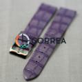 Ремешок из телячьей кожи Bandco фиолетовый RBC-005 - 1