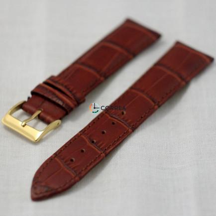 Ремешок из телячьей кожи Bandco коричневый RBK-003 - 3