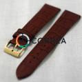 Ремешок из телячьей кожи Bandco коричневый RBK-011 - 1