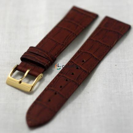 Ремінець з телячої шкіри Bandco коричневий RBK-011 - 4