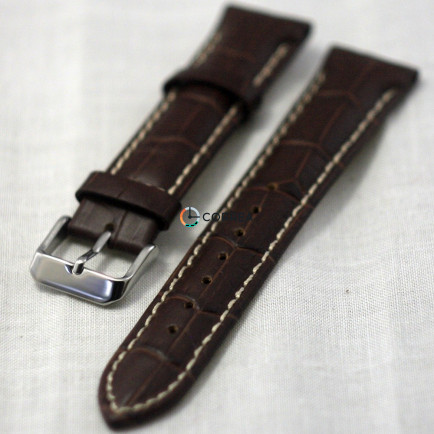 Ремінець з телячої шкіри Bandco коричневий RBK-012 - 4