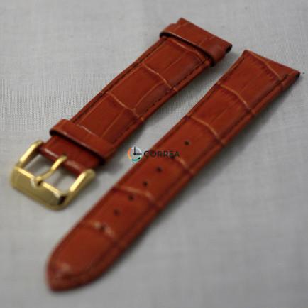 Ремінець з телячої шкіри Bandco коричневий RBK-013 - 4