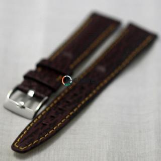 Ремешок из телячьей кожи Bandco коричневый RBK-017