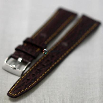 Ремешок из телячьей кожи Bandco коричневый RBK-017 - 4