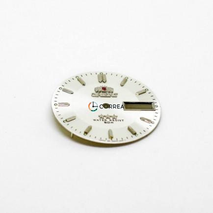 Циферблат для часов Orient 3 Stars белый CO-020 - 5
