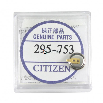 Аккумулятор Citizen 295-753 - 2