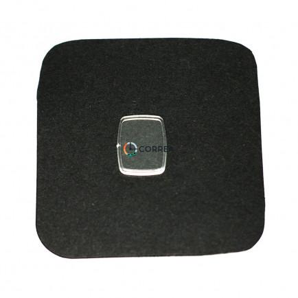 Стекло пластиковое для часов Чайка 12,8х16,5 мм SCH-005 - 3