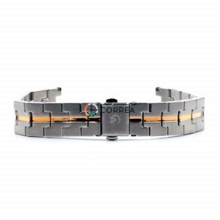 Браслет для часов Alexandre Christie комбинированный BAС-001