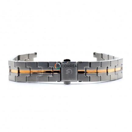 Браслет для часов Alexandre Christie комбинированный BAС-001 - 6