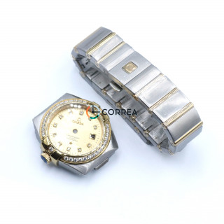Корпус для часов Omega Constellation сталь KOM-007
