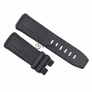 Ремінець для годинника Audemars Piguet Royal Oak Concept чорний RKАР-004