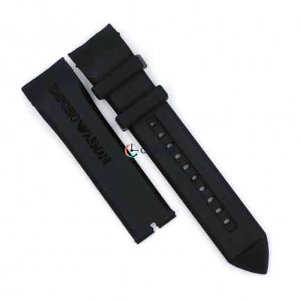 Ремешок для часов Armani AR5979 AR5985 черный RKА-003 - 6