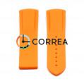 Ремешок для часов Omega Seemaster Planet Ocean 45,5 мм оранжевый RKO-004 - 3