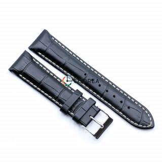 Ремешок из телячьей кожи Bandco черный RBB-016