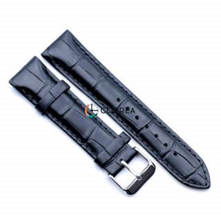 Ремешок из телячьей кожи Bandco черный RBB-006