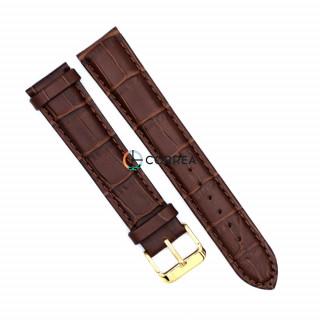 Ремешок из телячьей кожи Bandco коричневый RBK-001